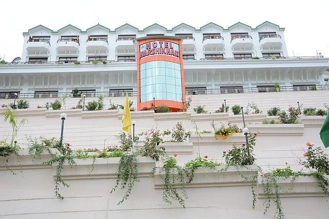 Hotel Harshikhar on Bhimtal Lake