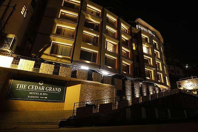 The Cedar Grand Hotel and Spa