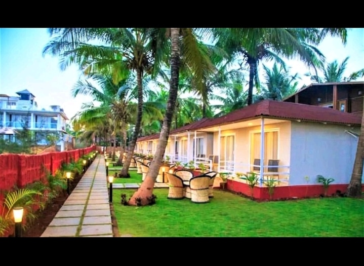 Rajmahal Morjim Beach Resort